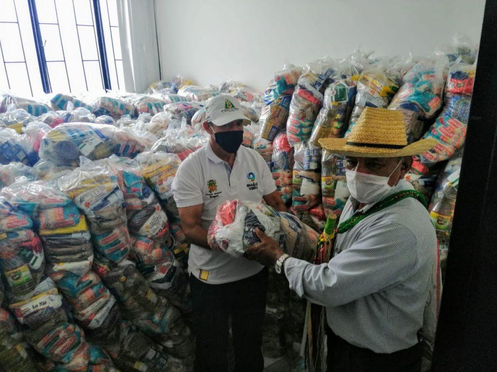 Comunidades afrocolombianas e indígenas recibieron kits nutricionales