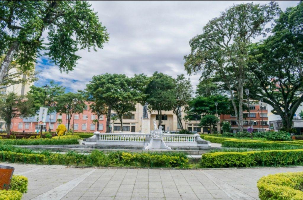 Ibagué Limpia embelleció la Plaza de Bolívar y limpió sus drenajes