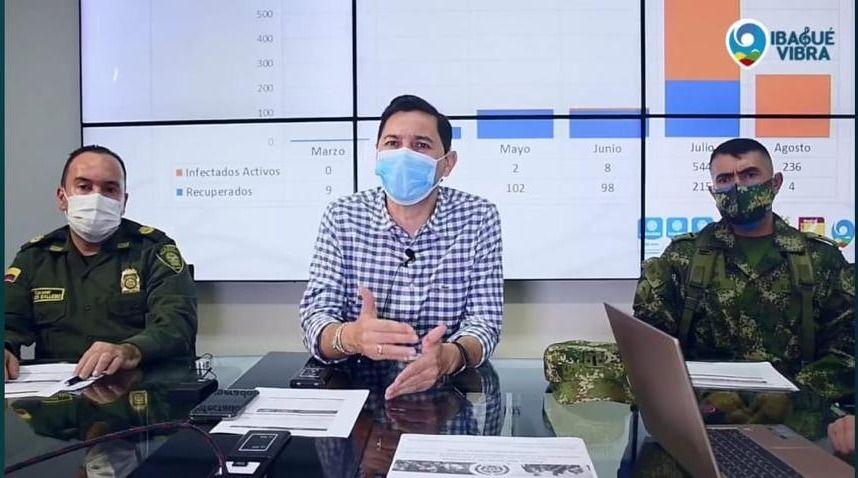 Alcaldía, señaló los sitios de mayor contagio covid-19 en Ibagué