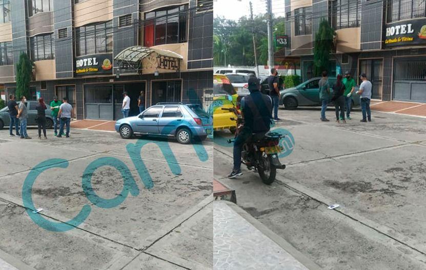 Tres hombres, y una mujer capturados en hotel de Ibagué
