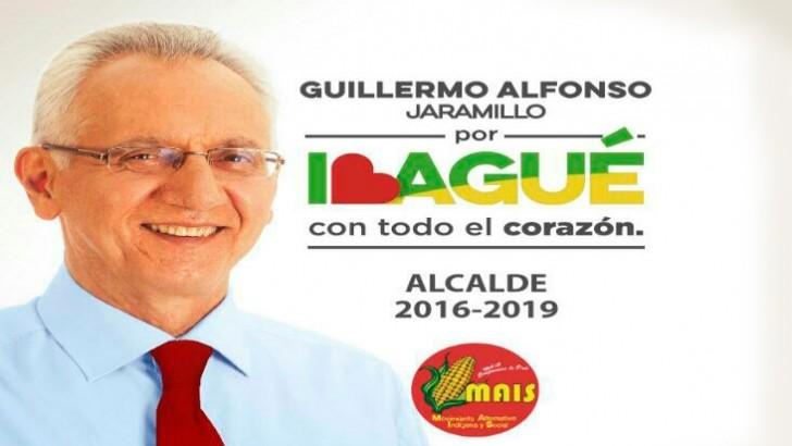 Ibagué merece un cambio total, Guillermo A Jaramillo