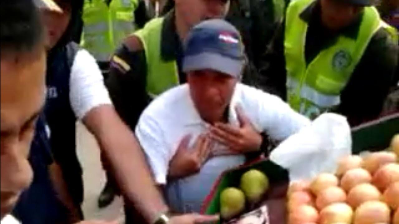 Video viral muestra líderes de Toledo atacando vendedores
