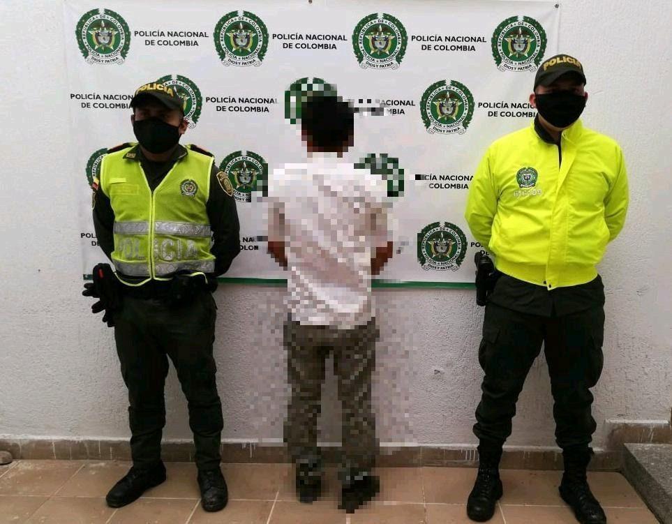 A la cárcel sujeto que figuraba con circular azul de la Interpol