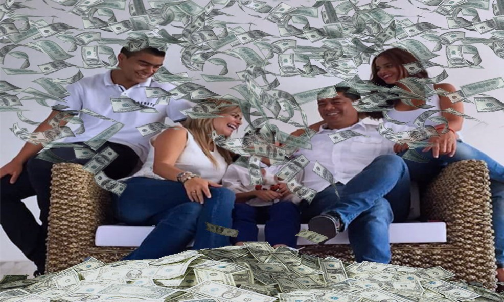 Los exagerados gastos en campaña y vida privada de Toledo