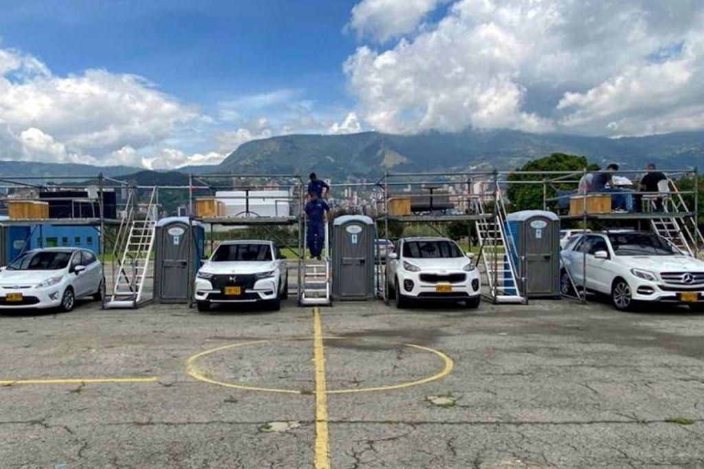 Suspenden concierto, palcos aéreos en Ibagué