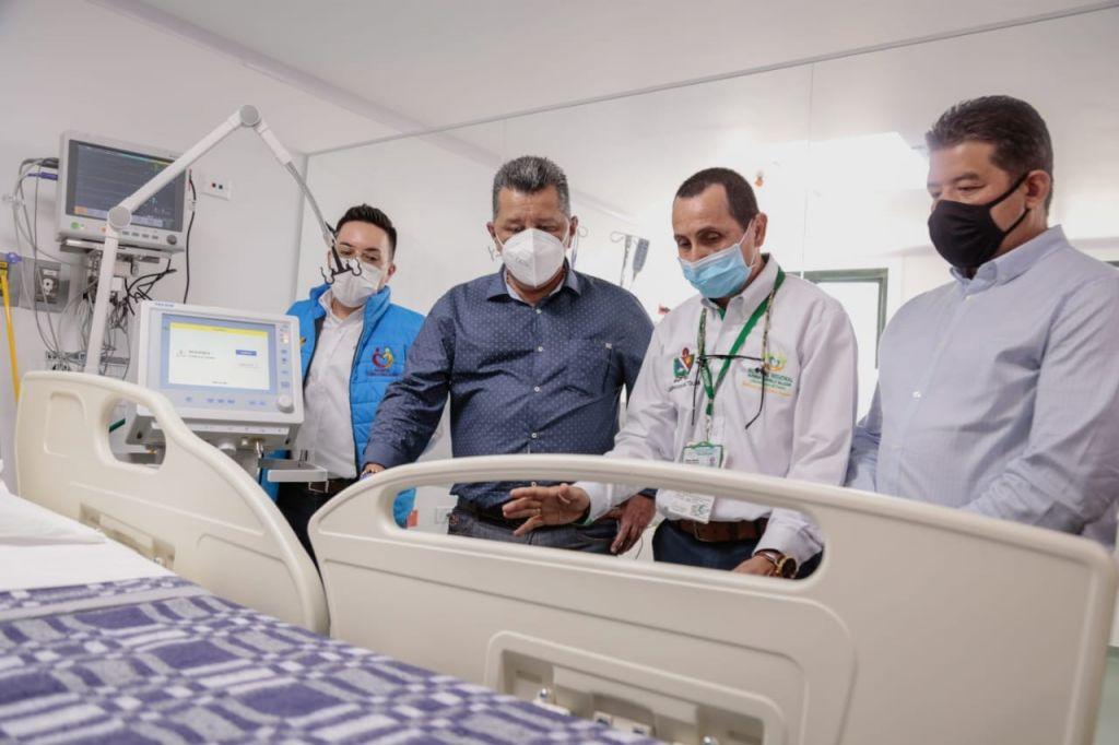 10 nuevas camas UCI  para hospital del Líbano