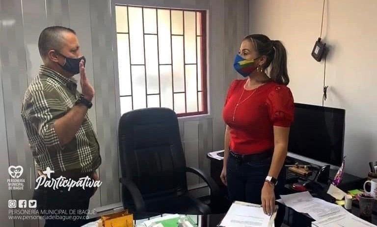 Asumió nuevo Personero Delegado en Ibagué