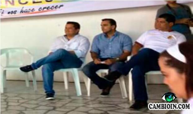 Candidato a la asamblea que apoya Toledo y Barreto gira chueques Chimbos