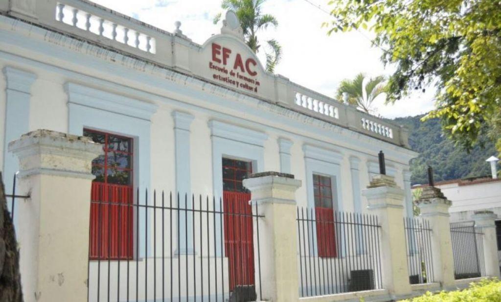 Escuela de formación artística abre sus puertas al semestre A 2021