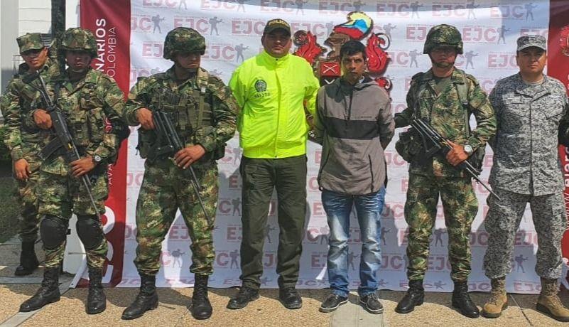 6 años de prisión al jefe del ELN en el Tolima