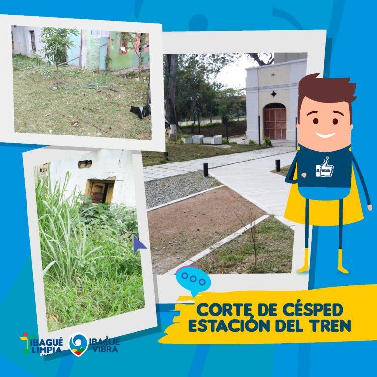 Conservando la estación de trenes en Picaleña