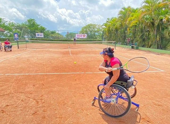 Deportista tolimense convocada a Selección Colombia de tenis de campo adaptado