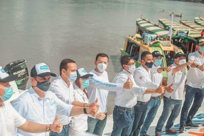 Gobernadores reviven navegabilidad del río Magdalena