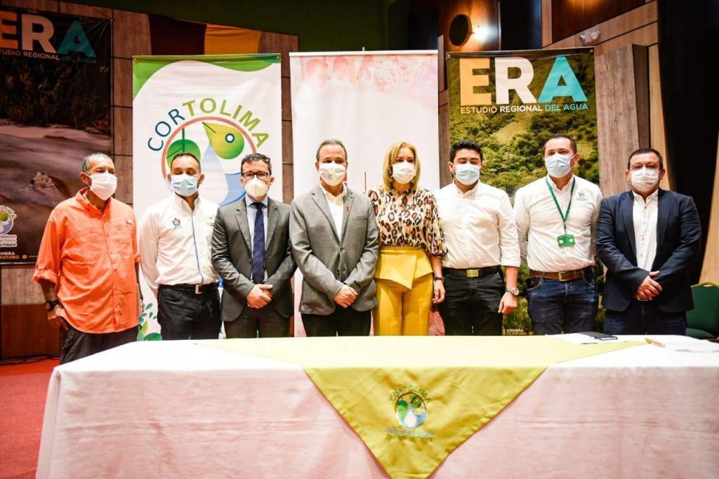 Cortolima firma convenio que evaluará la cantidad y calidad de agua del departamento del Tolima