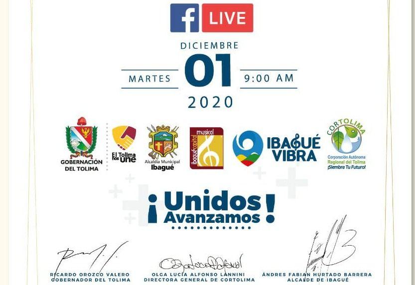 Alcaldía, gobernación y Cortolima rinden cuentas