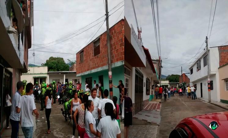 alteración de orden público en el barrio Gaitán de Ibagué
