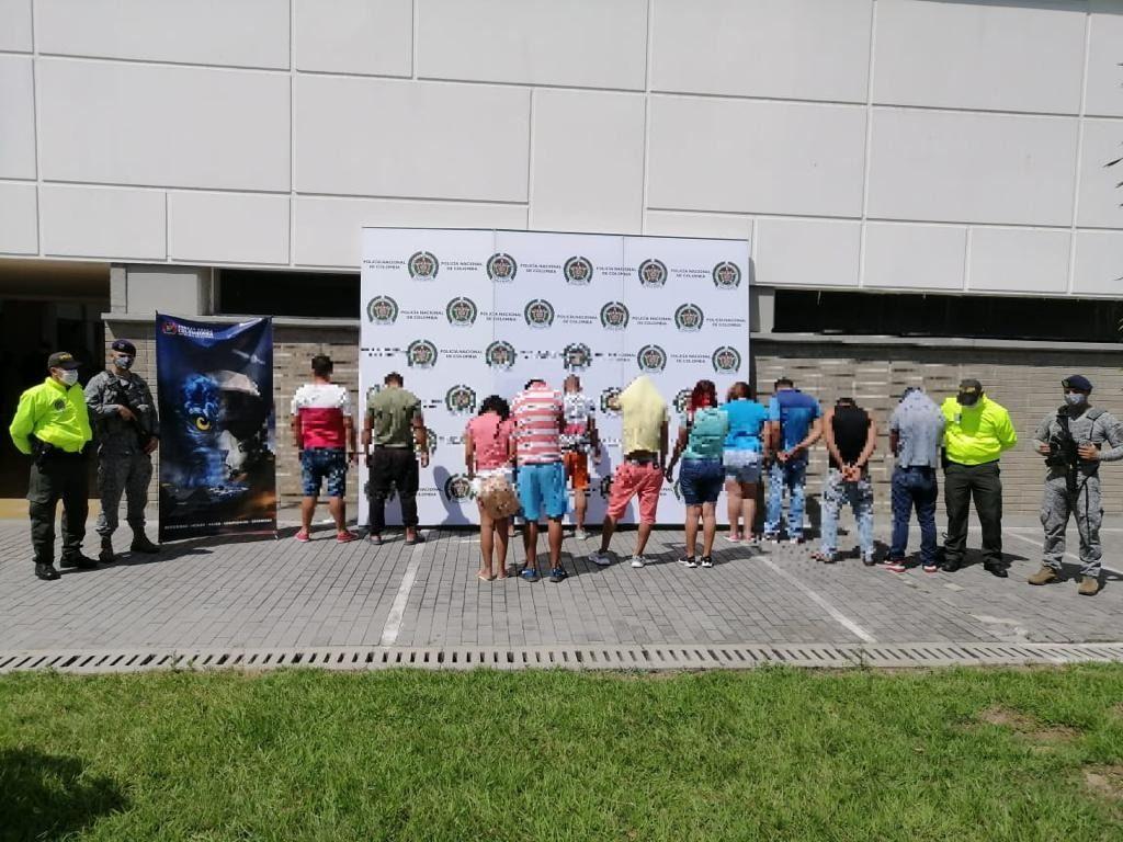 Desarticulada la temida estructura delincuencial 'Los Internos', en el Tolima
