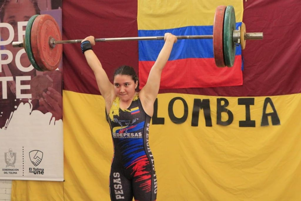 Tolimense se corona campeona panamericana sub 15 en levantamiento de pesas