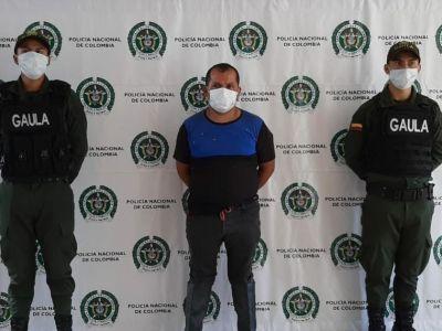 A la cárcel peligroso extorsionista de campesinos en Ibagué
