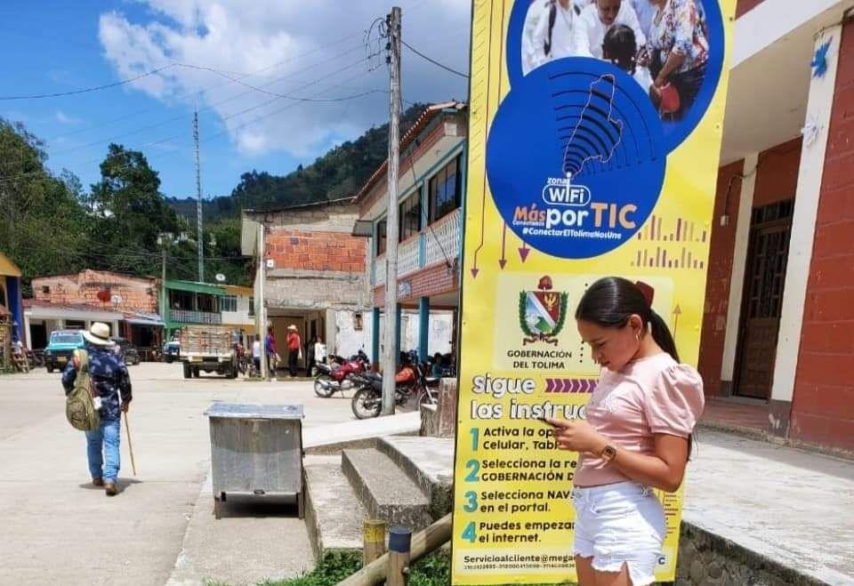 Wifi gratis para todos en el Tolima