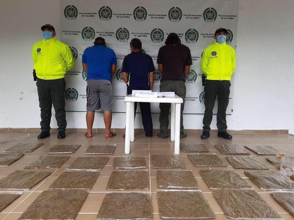 A la cárcel 'Los Del Puente', peligrosa banda delincuencial que operaba en Tolima y Cundinamarca.