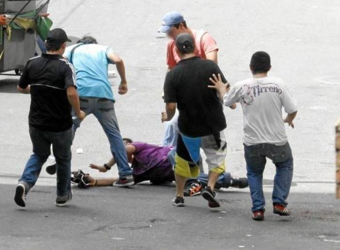En pelea terminó operativo de la policía  en la comuna seis de Ibagué