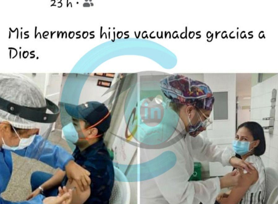Vacunan hijos de empleada del HFlleras