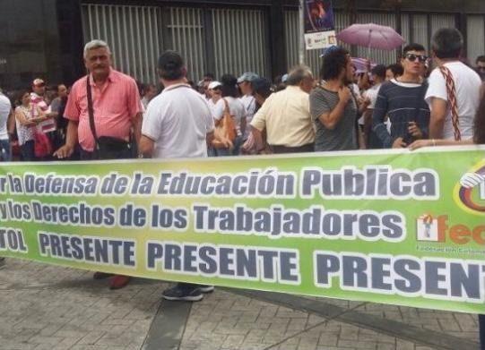 Sindicatos de educadores darán a conocer pliego de peticiones
