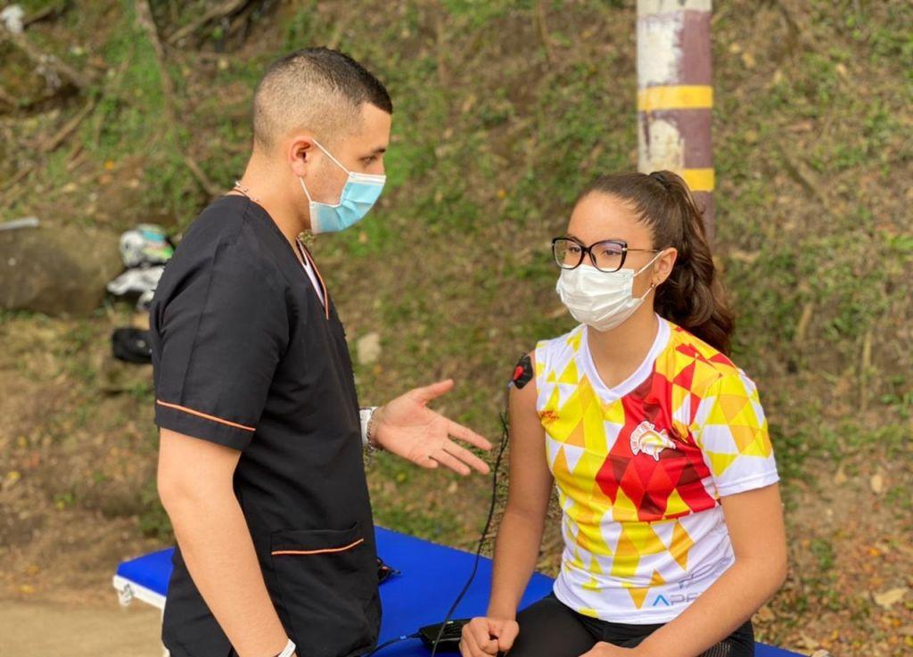 Indeportes acompaña a la liga de Vóleibol del Tolima