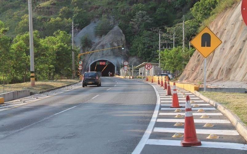 Por dos noches cierran túnel de la entrada a Ibagué