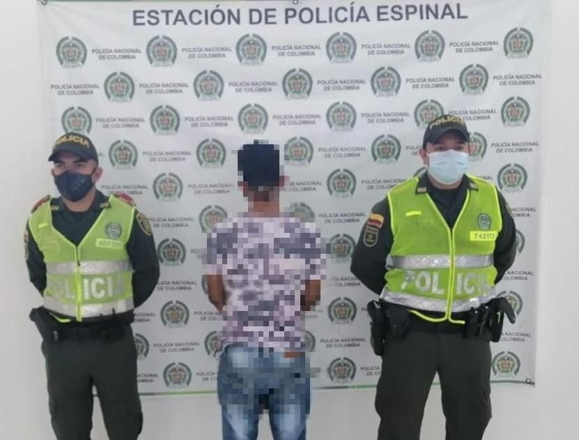 A la cárcel peligroso violador en El Espinal