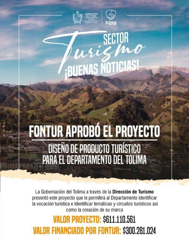 El Tolima tendrá su propio sello turístico