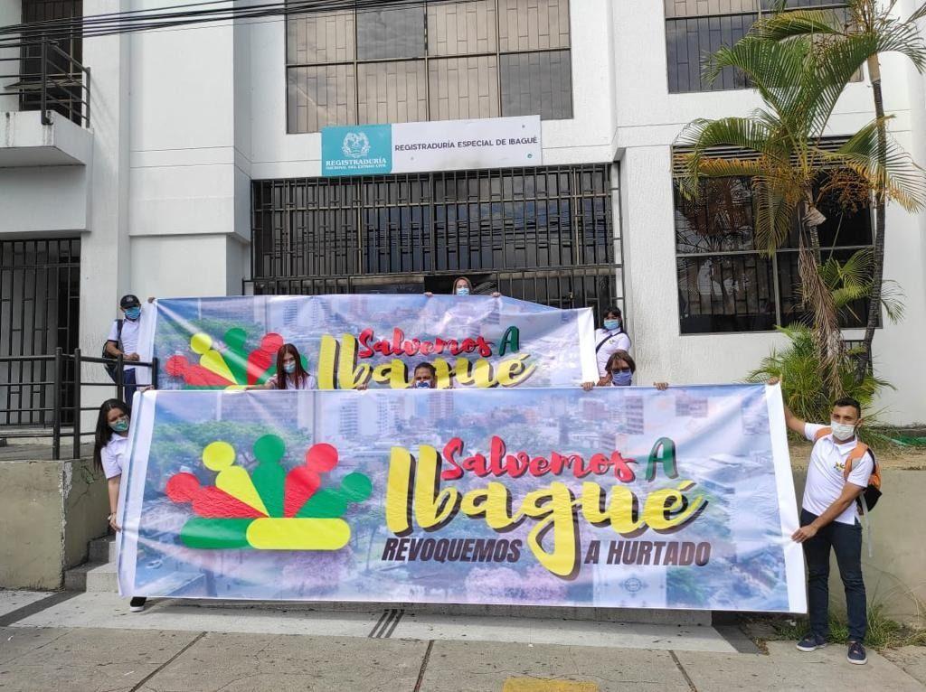 RNE obstaculiza revocatoria del alcalde de Ibagué: denuncia