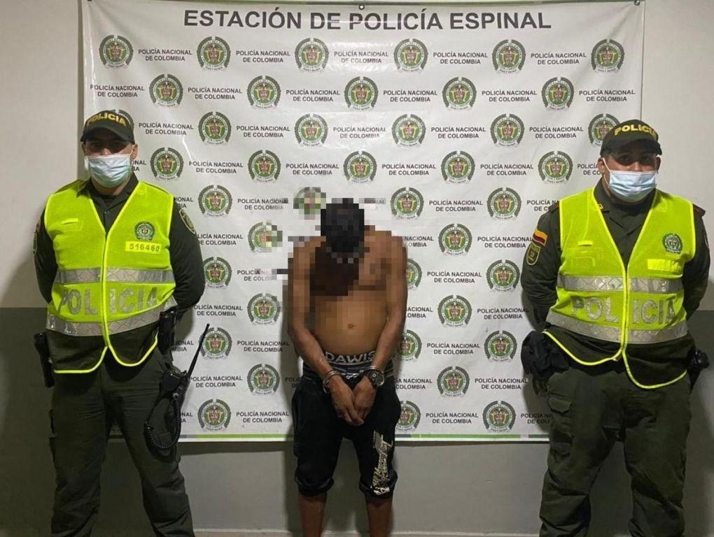 En El Espinal cayó alias 'Chimbilo', presunto integrante de la desarticulada estructura delincuencial 'Los Internos'.
