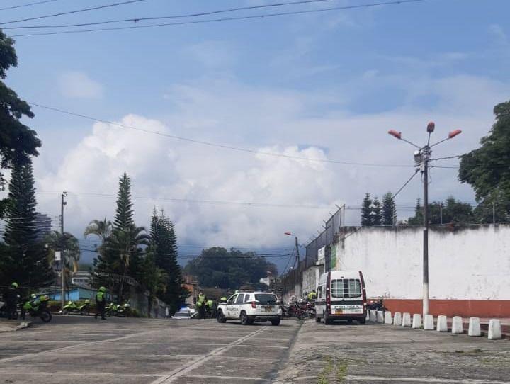 3 heridos en revuelta al interior del centro de reclusión de menores