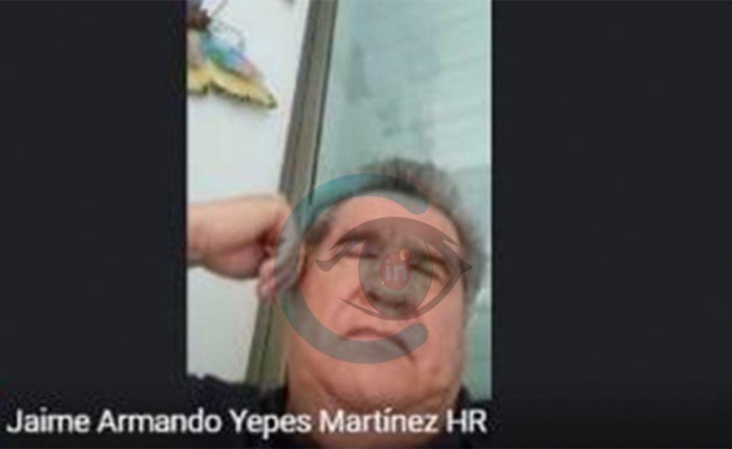 Congresista Yepes se durmió en sesión y con la cámara prendida