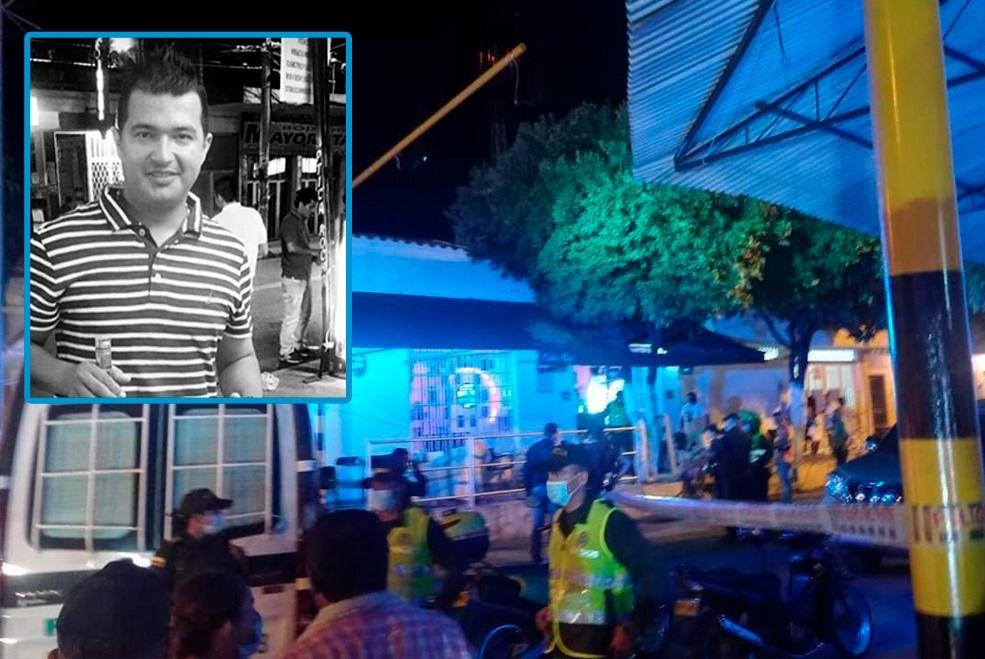 Lo asesinan en medio de la multitud, cuando veía partido del DT