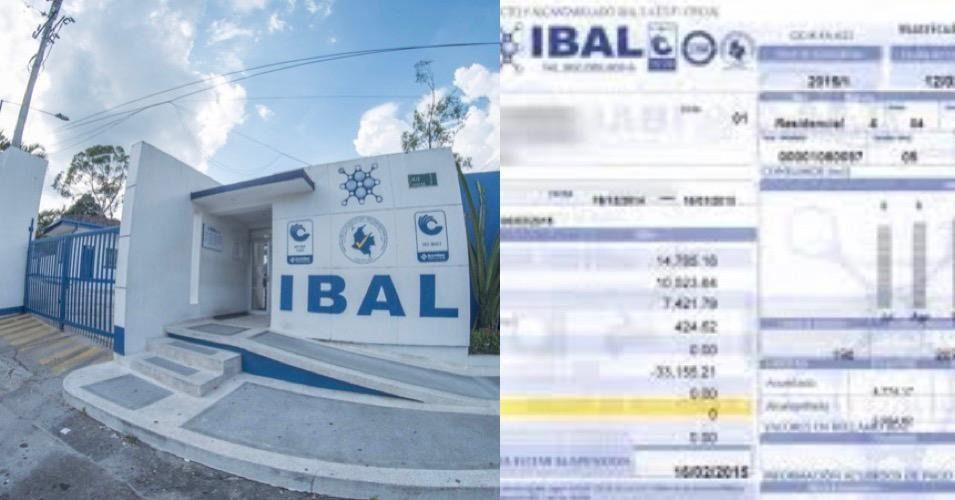 IBAL aumentó sin aviso la tarifa del servicio de agua en Ibagué