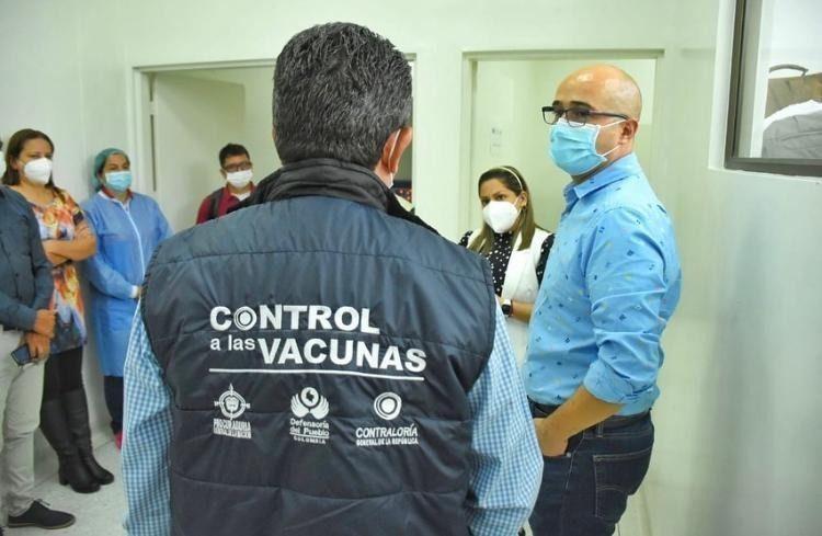 CGN detectó anomalías en plan de vacunación en el Tolima