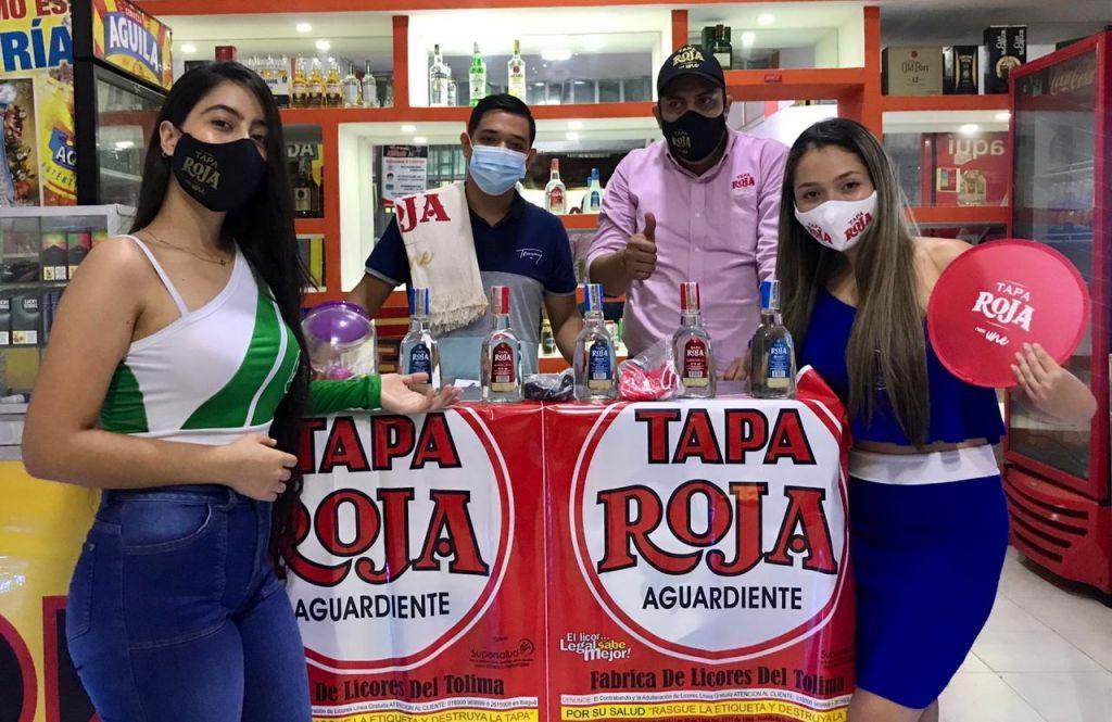 Tapa Roja se toma El Espinal