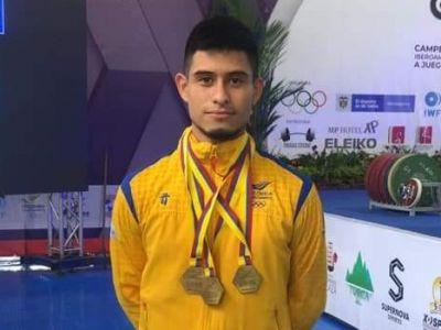Pesista Miguel Suárez rompe por segunda vez récord panamericano