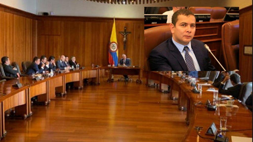 CE acepta solicitud de pérdida de investidura contra Senador Barreto