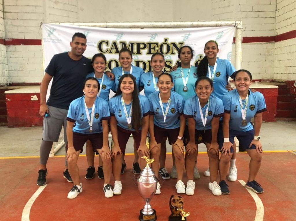 Selección Tolima femenina de fútbol de salón, campeona