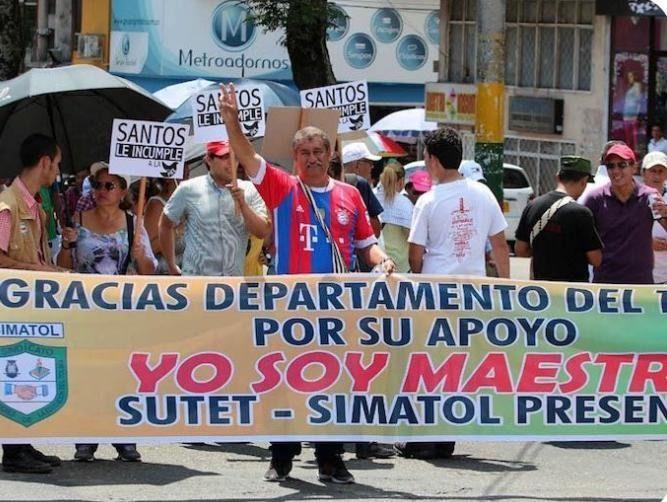 Después del paro, docentes vuelven a clases en el Tolima
