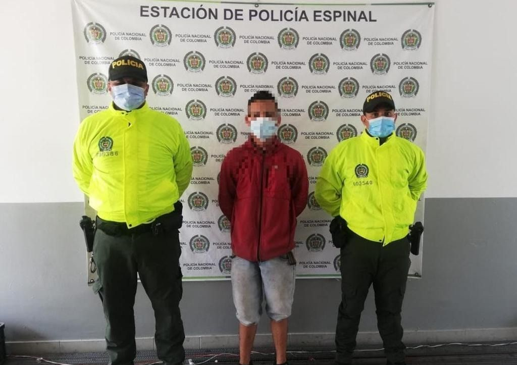 En Espinal se escondía bandido buscado por Interpol