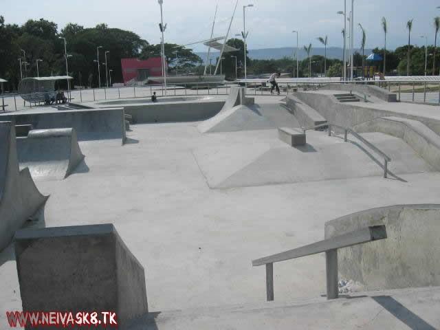 skatePark de Ibagué fue hecho en arenas movedizas