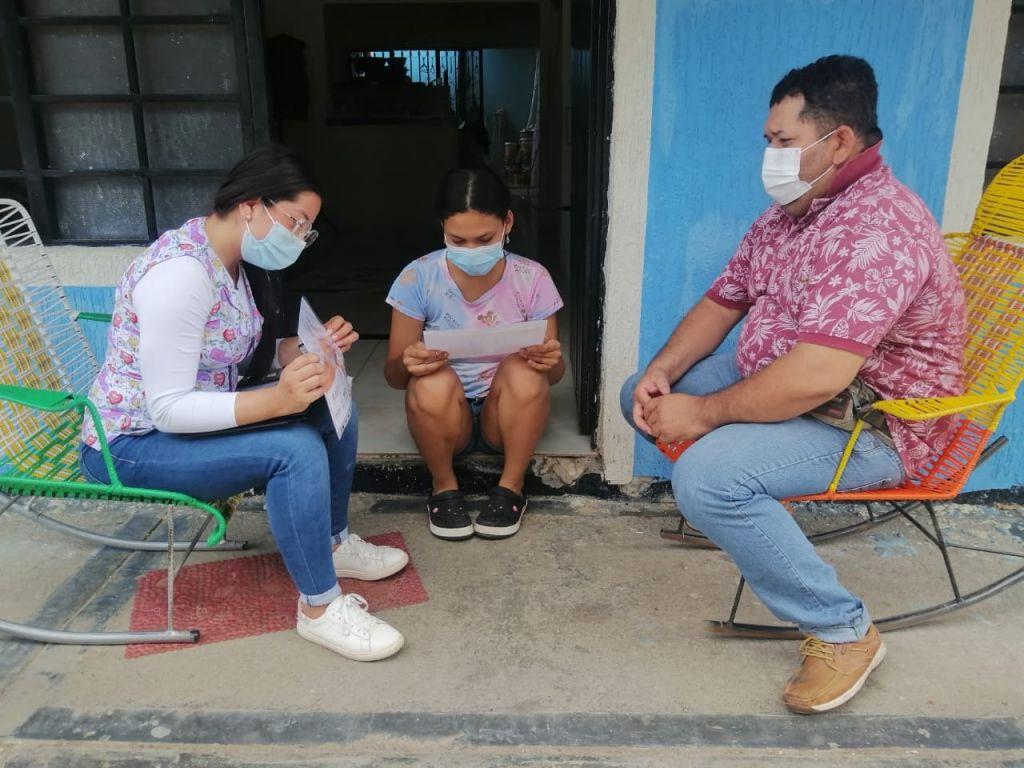 Trabajando por la salud pública en el Tolima.