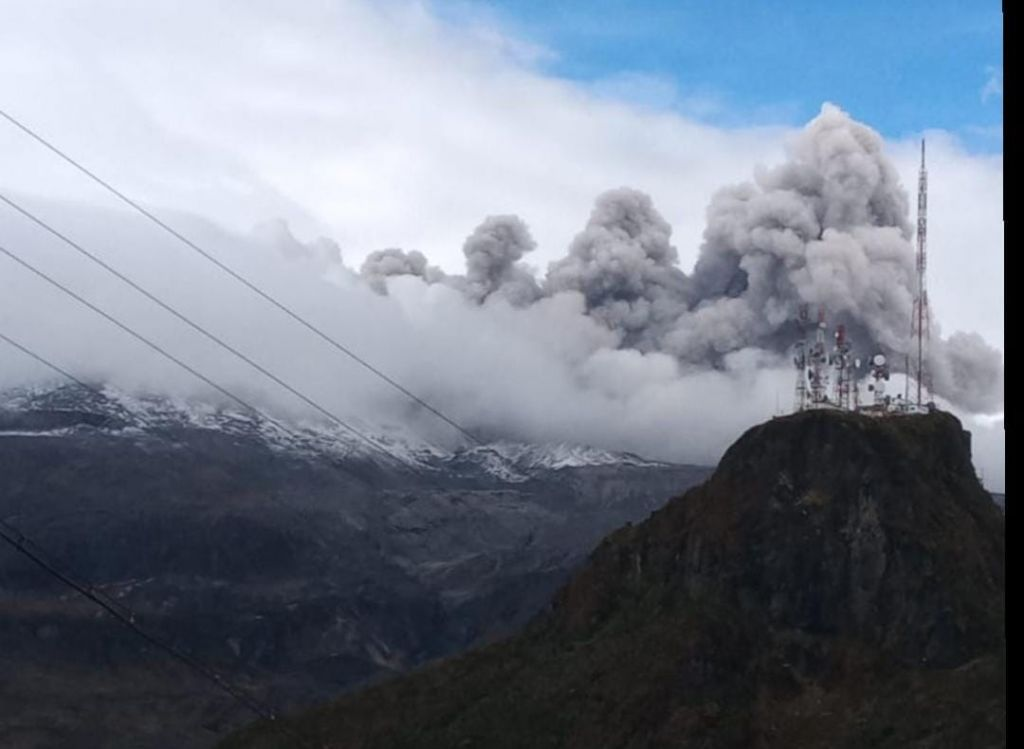El Tolima en alerta por actividad en el Nevado del Ruiz