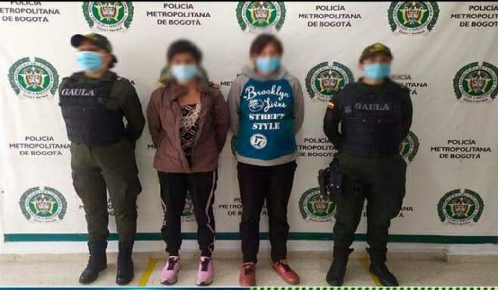 Las Espinalunas que fueron a Bogotá, a robarse una niña