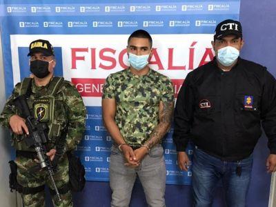 Cae peligroso secuestrador que operaba en el Tolima